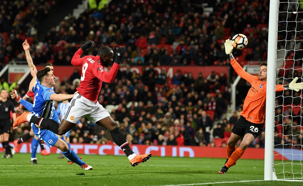 Hình ảnh: Lukaku ghi 25 bàn thắng ở mùa này cho MU
