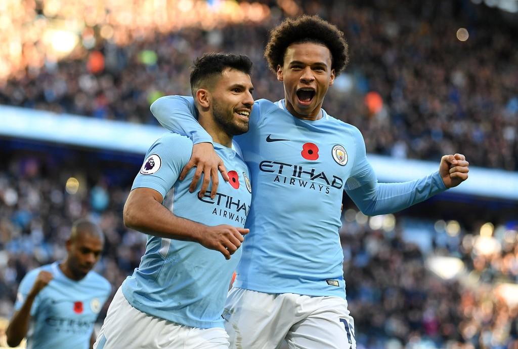 Hình ảnh: Hàng công Man City ghi 56 bàn thắng