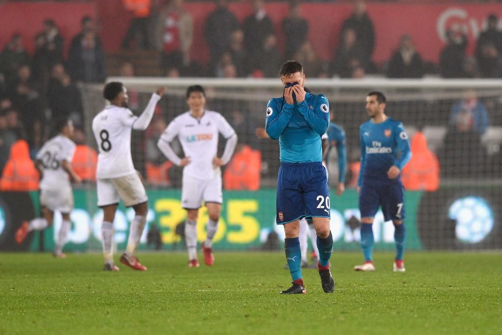 Hình ảnh: Arsenal chơi quá tệ trên sân khách