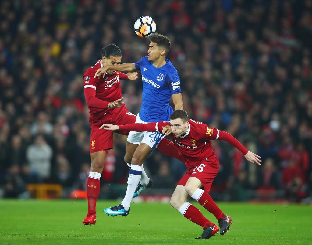Hình ảnh: Van Dijk hứa hẹn loại bỏ những sai lầm cho Liverpool