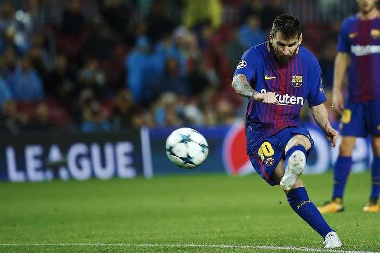 Hình ảnh: Messi đã vượt qua Ronaldo về sút phạt