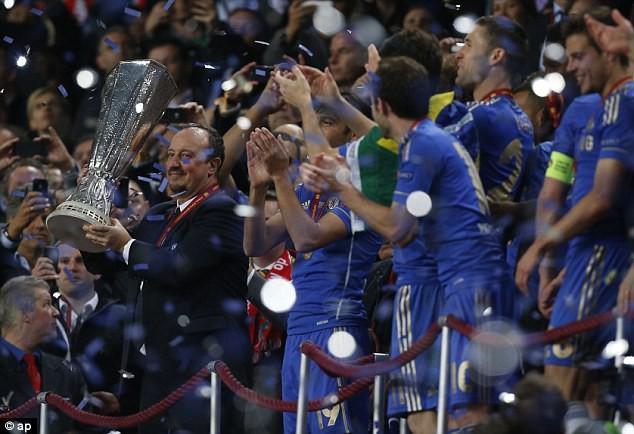 Hình ảnh: Rafael Benitez đem về chức vô địch Europa League 2012