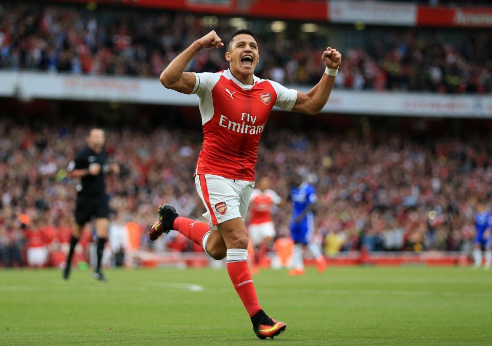 Hình ảnh: Sanchez nhận mức lương kỷ lục ở Arsenal