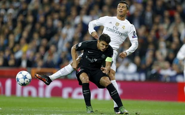 Hình ảnh: Ronaldo không ghi bàn trước PSG ở cuộc đối đầu trước đó