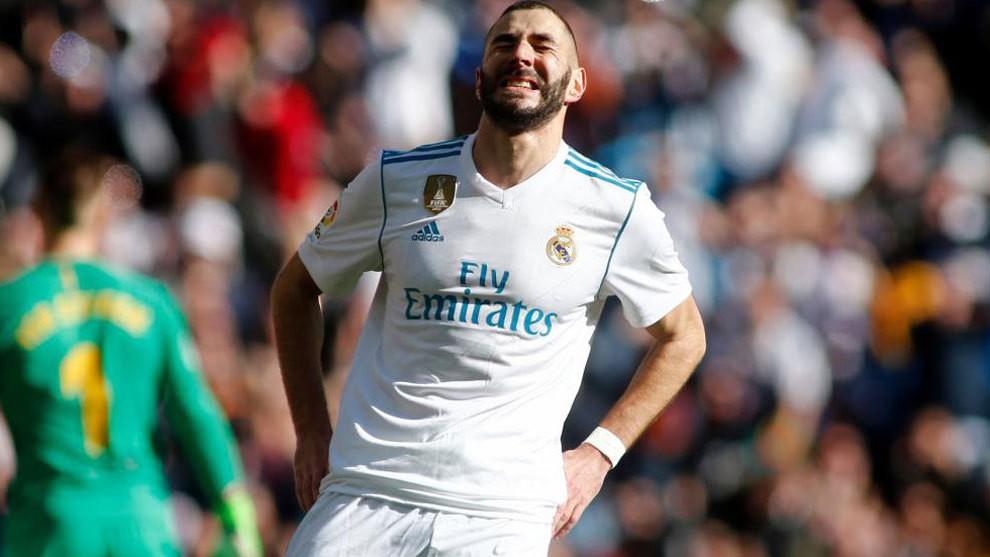 Hình ảnh: Benzema chỉ ghi được 2 bàn tại La Liga mùa này