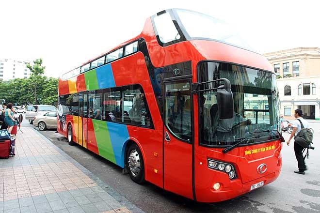 Phương án mừng công bằng xe bus 2 tầng đang chờ để được thông qua.