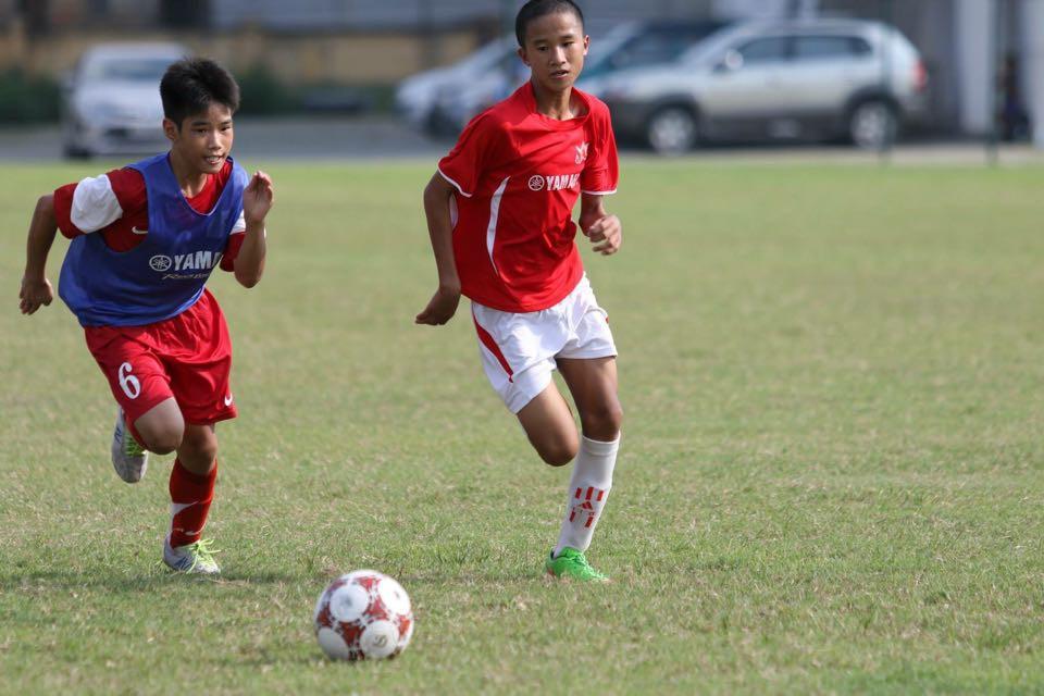 Festival bóng đá học đường U.13 Yamaha Cup đã vạch ra cho hai anh em con đường mới