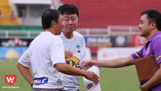 Tiếng nói về chuyên môn của GĐKT Chung Hae Seung càng lớn hơn. Ảnh: Quang Thịnh