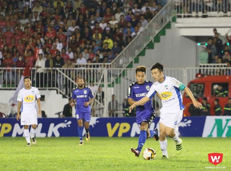Xuân Trường đã không thể hiện là chính mình như ở VCK U23 châu Á 2018. Ảnh: 2018