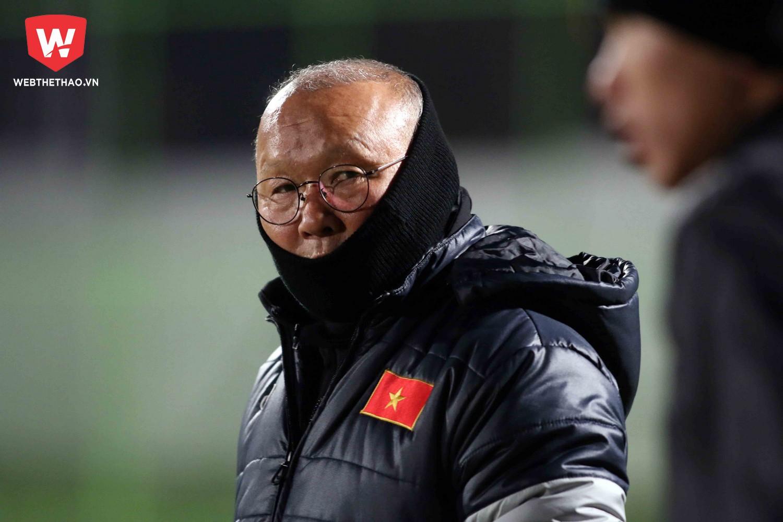 HLV Park Hang Seo được kỳ vọng sẽ mang lại bất ngờ cho các đối thủ ở bảng D. Ảnh: Anh Khoa