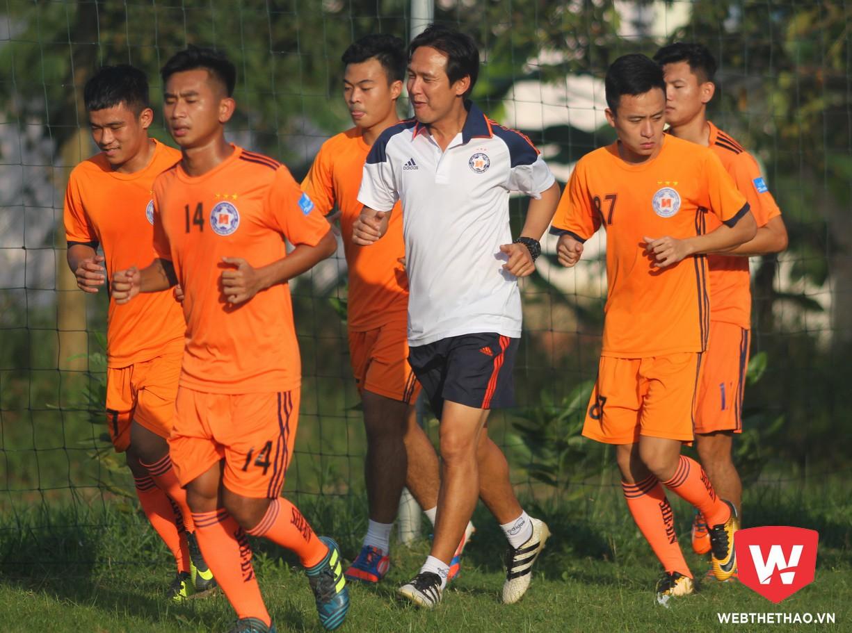 HLV Minh Phương sẽ gánh trọng trách rất lớn ở mùa giải này.