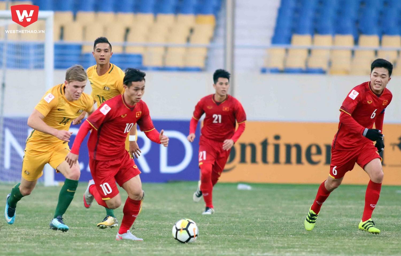 Để thầm lặng góp công vào chiến tích lịch sử của U23 Việt Nam. Ảnh: Anh Khoa