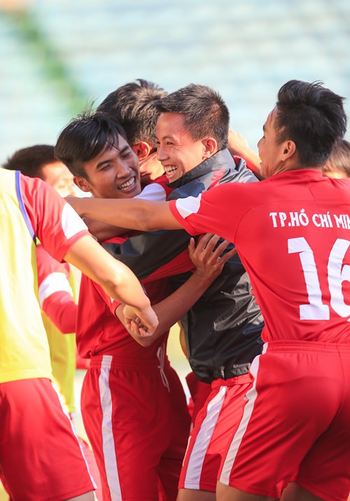 U19 Tp.HCM là đội bóng cuối cùng giành tấm vé tham dự VCK U19 QG tại Huế.