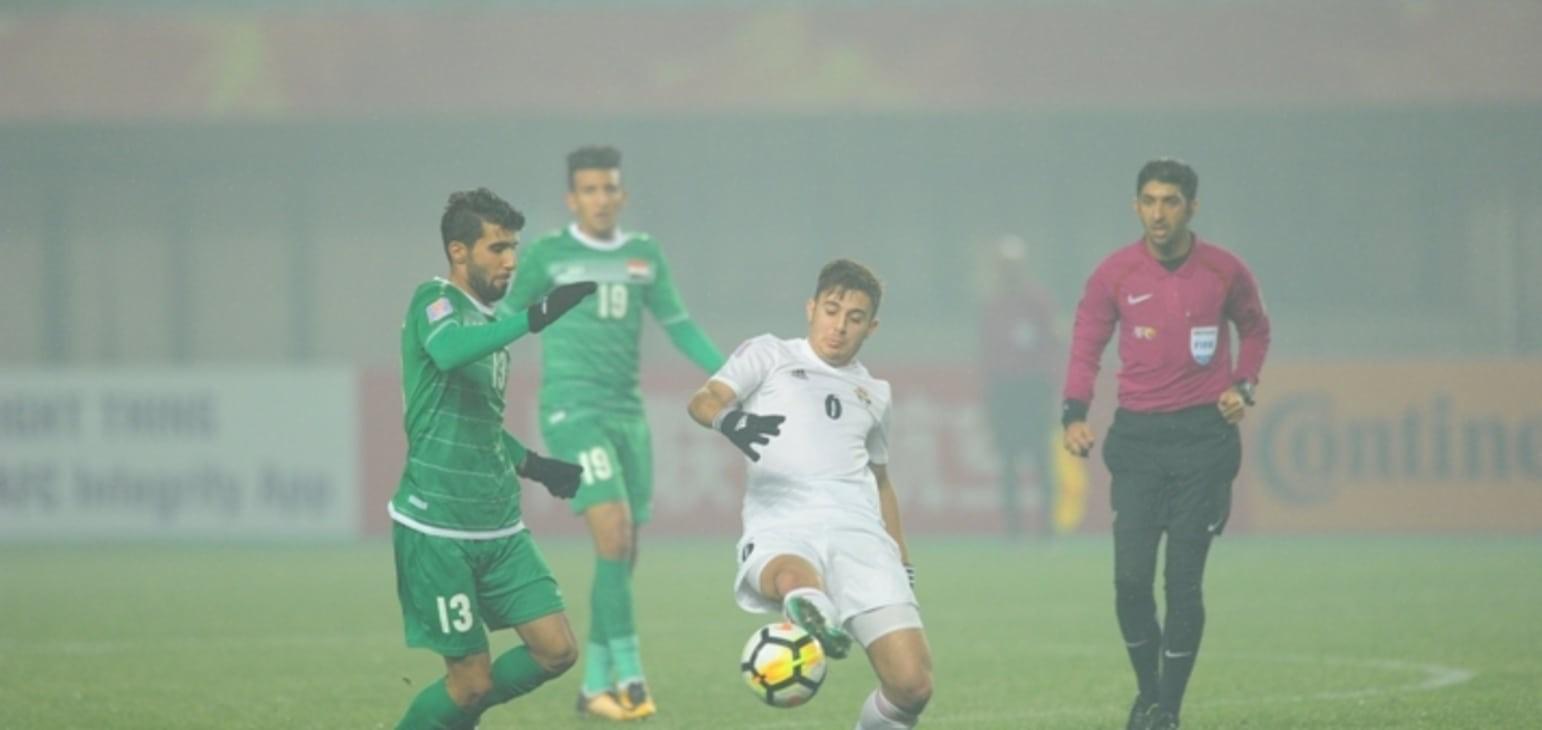 Tiền vệ của U23 Iraq rất tự tin trước trận tứ kết. Ảnh: AFC