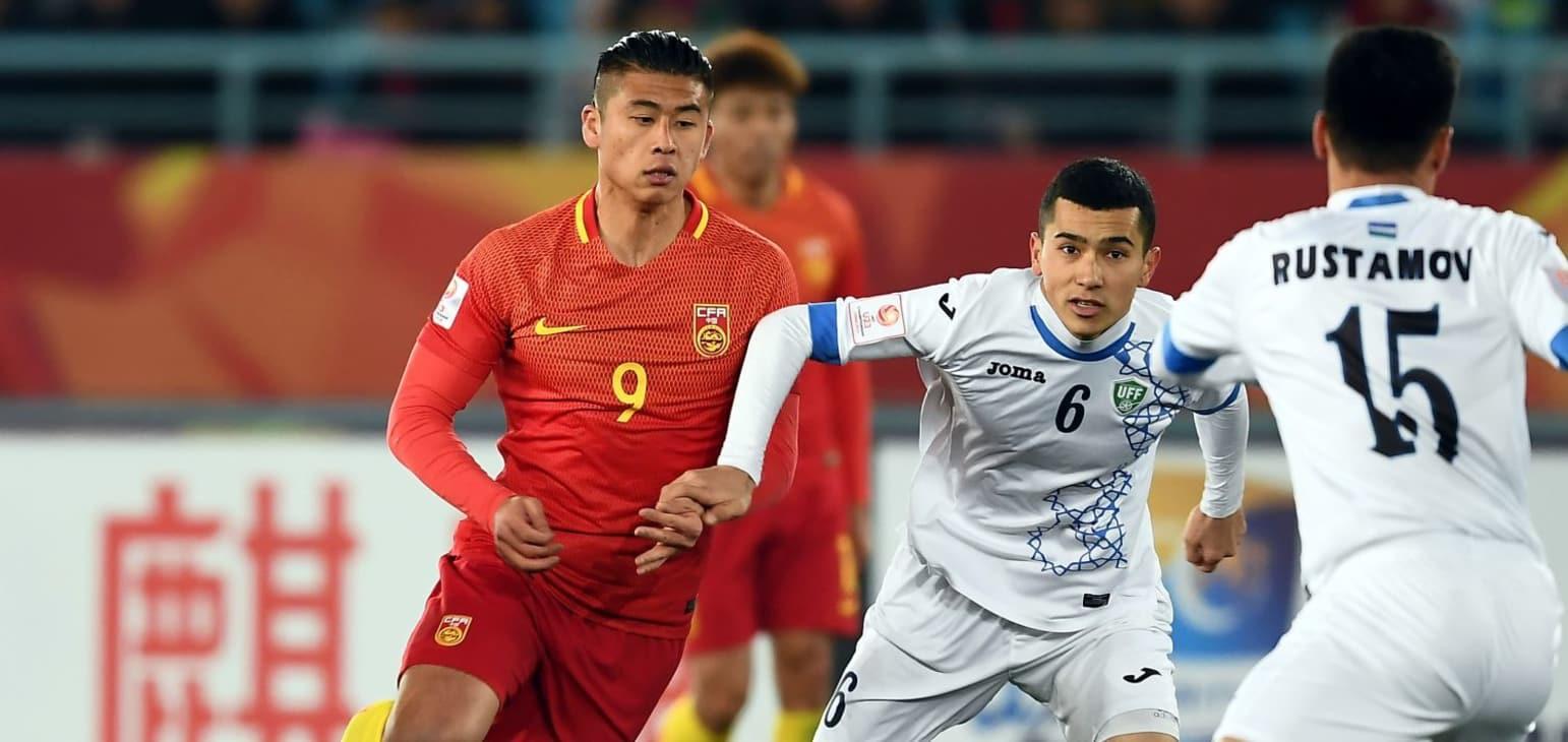 Tiền đạo đang khoác áo Werder Bremen Zhang Yuning gây thất vọng ở giải đấu được tổ chức trên sân nhà. Ảnh: AFC