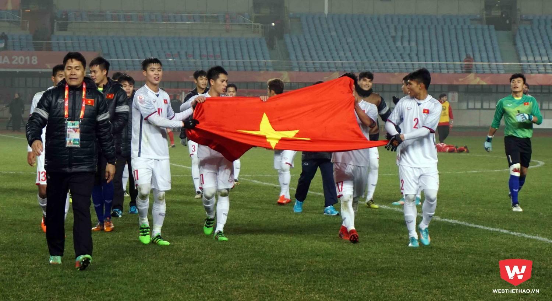 Công Vinh muốn mọi người nhìn nhận sâu rộng hơn về thành tích của U23 Việt Nam. Ảnh: Anh Khoa