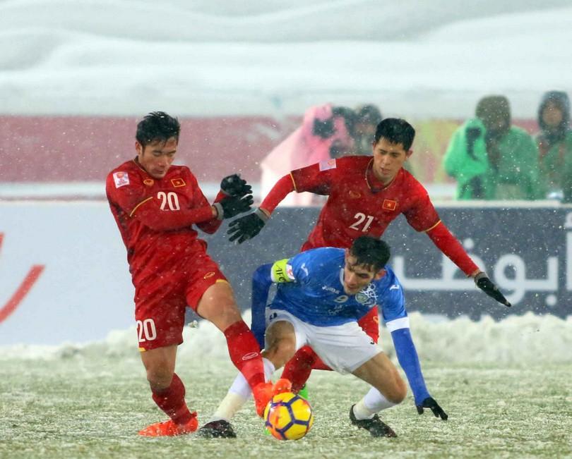 Tiềm năng phát triển của bóng đá Việt Nam rất lớn. Ảnh: Anh Khoa