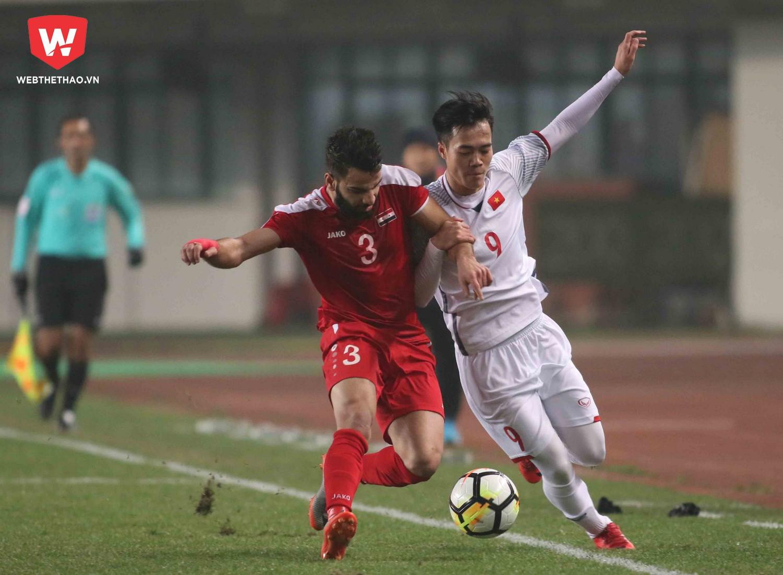 U23 Việt Nam có nền tảng thể lực khá tốt ở VCK U23 châu Á 2018. Ảnh: Anh Khoa