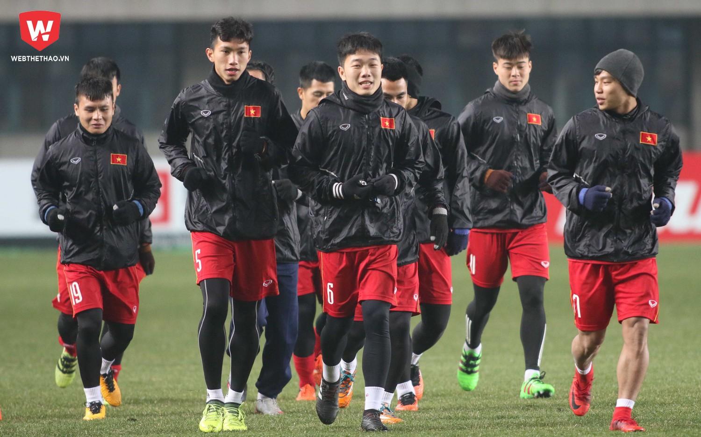 U23 Việt Nam nắm quyền tự quyết cho tấm vé vào tứ kết. Ảnh: Anh Khoa