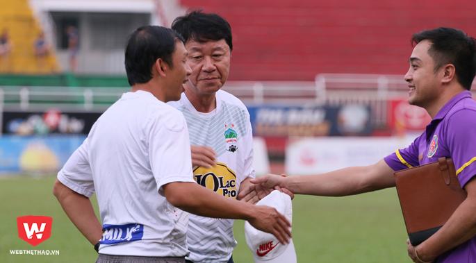 GĐKT Chung Hae Seong là một trong những chiến lược gia có thâm niên ở công tác huấn luyện cao nhất tại V.League 2018.