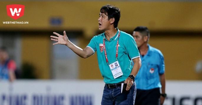 HLV Minh Phương sẽ ra mắt các cầu thủ vào buổi tập đầu tuần tới. Ảnh: Quang Thịnh