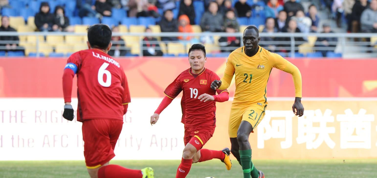 Xuân Trường muốn cùng ĐT Việt Nam tạo nên dấu ấn đặc biệt ở AFF Cup 2018 tới. Ảnh: Anh Khoa