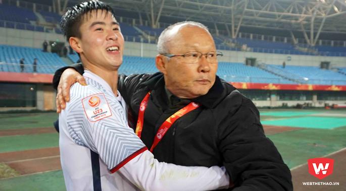 Đỗ Duy Mạnh muốn trở lại mặt đất sau thành công ở VCK U23 châu Á 2018 vừa rồi.