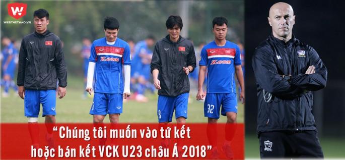 Trong khi U23 Việt Nam vào đến trận chung kết thì U23 Thái Lan đã rời cuộc chơi sớm.