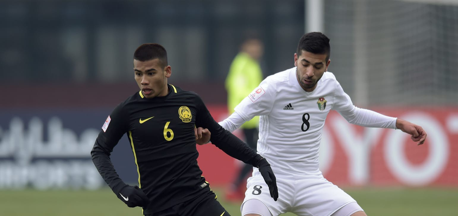 U23 Malaysia trở thành đội bóng Đông Nam Á đầu tiên vượt qua vòng bảng ở VCK U23 châu Á. Ảnh: AFC