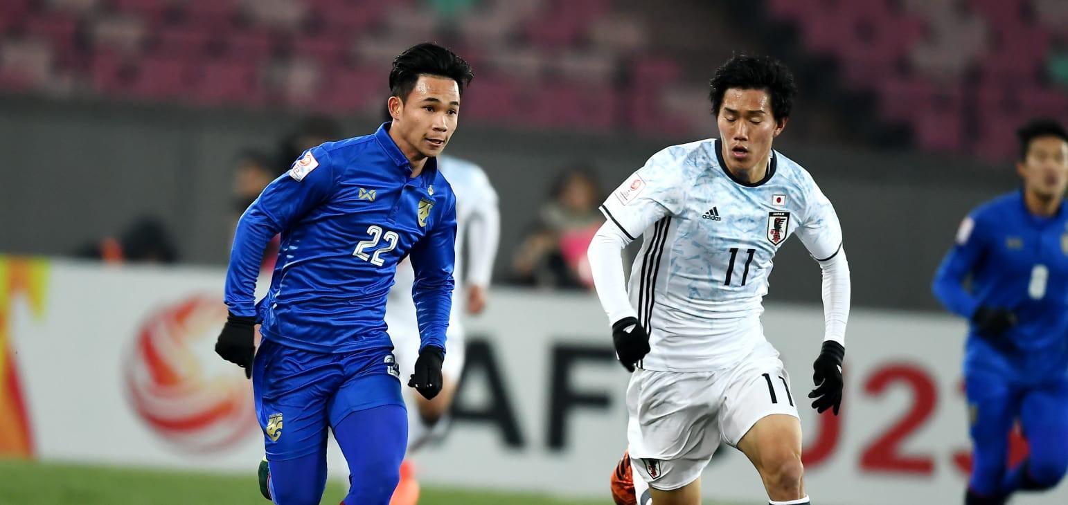 U23 Thái Lan thể hiện bộ mặt bạc nhược ở VCK U23 châu Á 2018. Ảnh: AFC