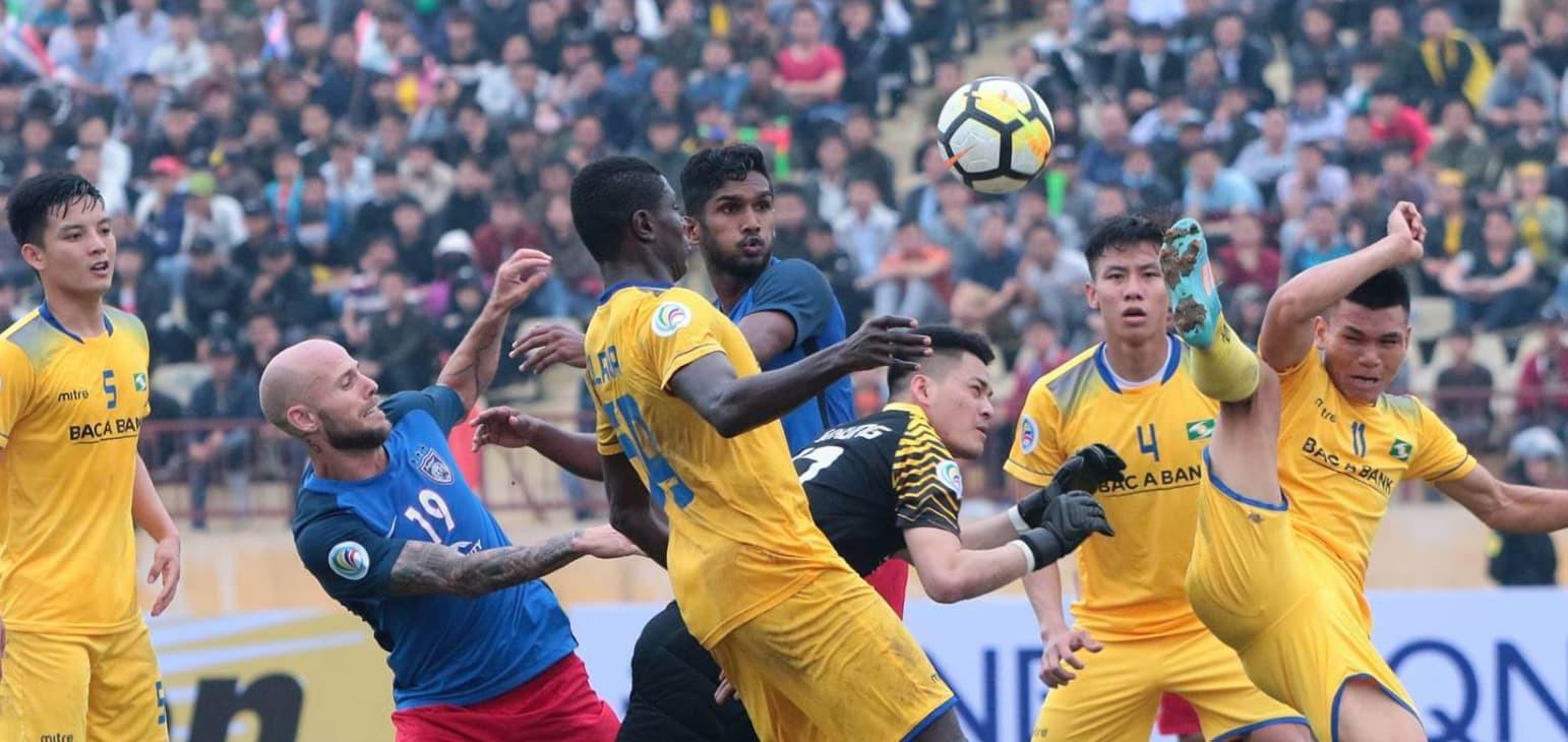 SLNA đang thể hiện phong độ ấn tượng ở sân chơi AFC Cup.