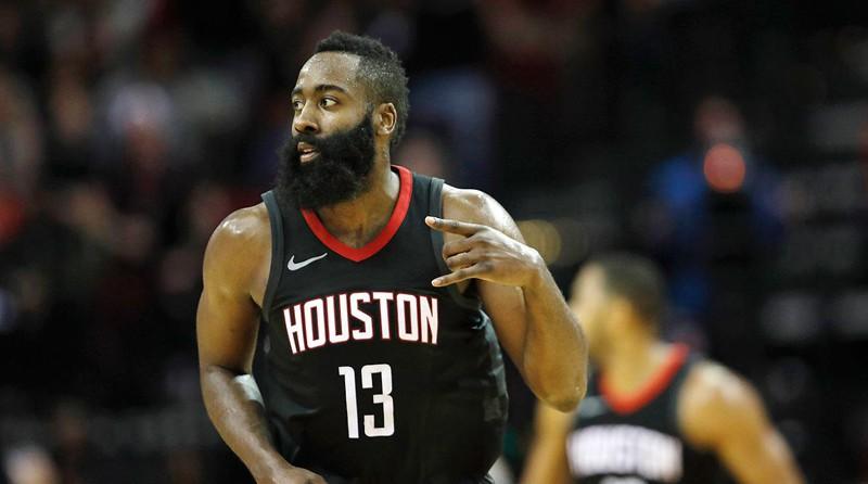 James Harden có hợp đồng với Rockets đến tận năm 2023.