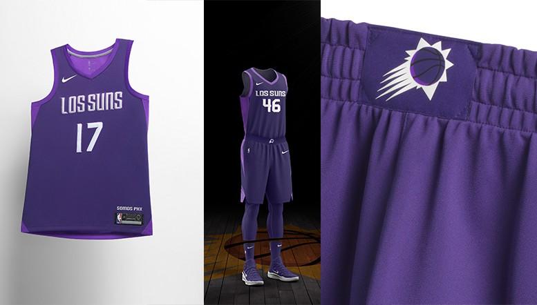 'Los Suns', logo muốn tôn vinh truyền thống đậm chất Tây Ban Nha tại thành phố Phoenix.