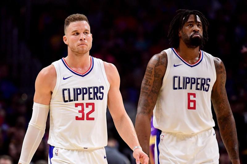 """Blake Griffin đã rời Clippers và có lẽ DeAndre Jordan cũng sắp """"lên đường""""."""