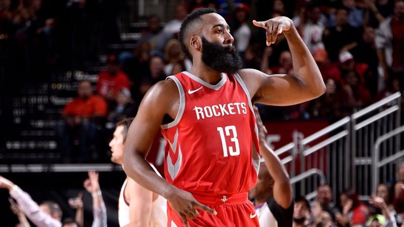 Houston Rockets từng đánh bại Golden State Warriors trong ngày mở màn NBA.
