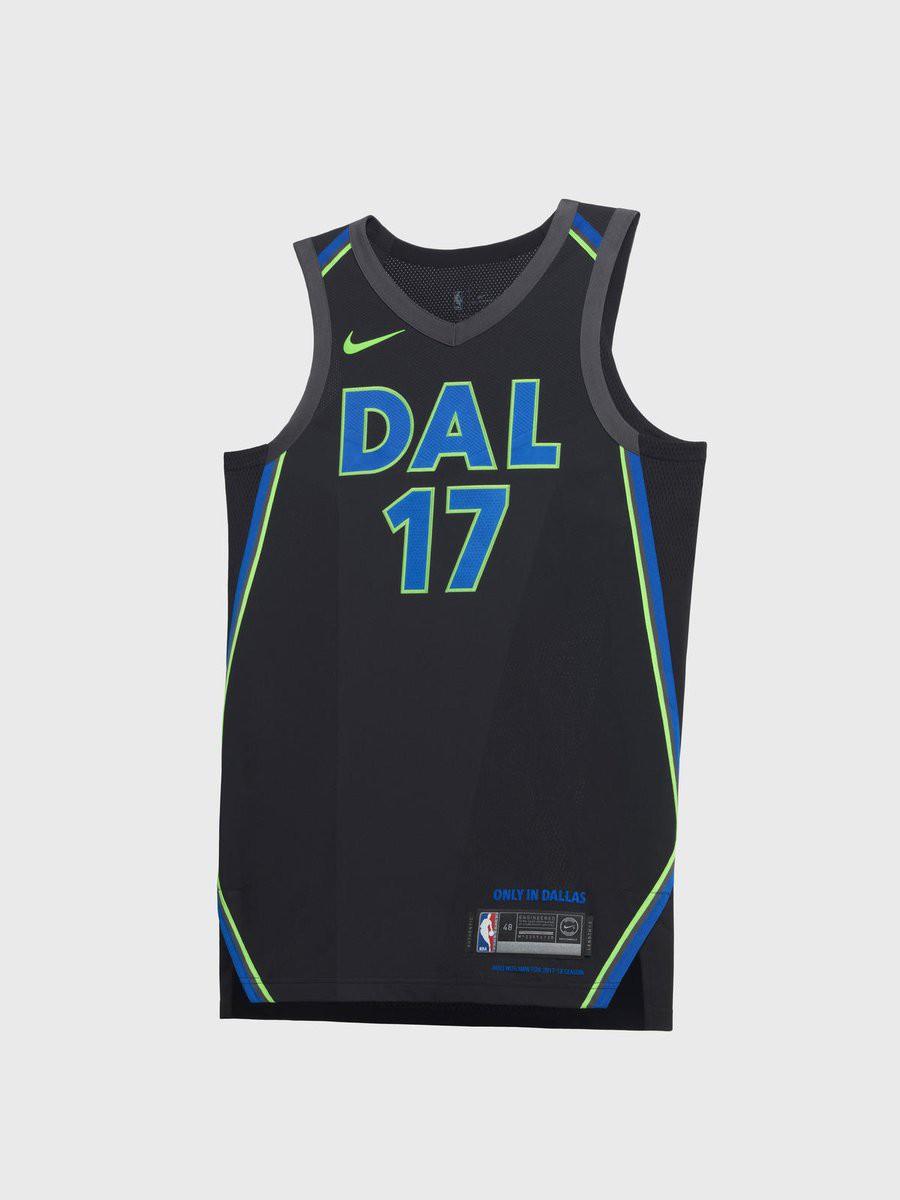Thiết kế này của Dallas lấy cảm hứng từ sự sôi động về đêm ở thành phố Dallas. Một thiết kế có phần phá cách so với hai màu trắng - xanh quen thuộc.