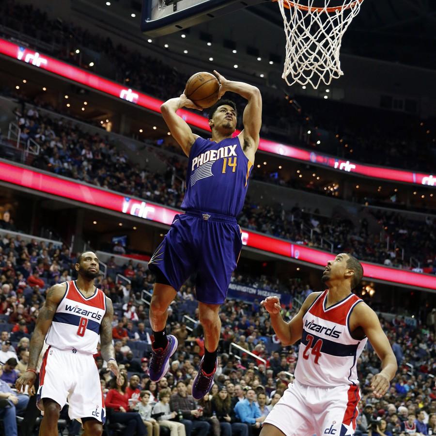 Gerald Green bùng nổ nhất trong giai đoạn thi đấu cho Phoenix Suns.