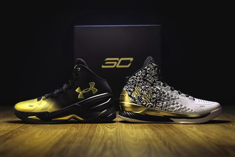 """Under Armour Curry """"Back to Back"""" MVP Pack."""