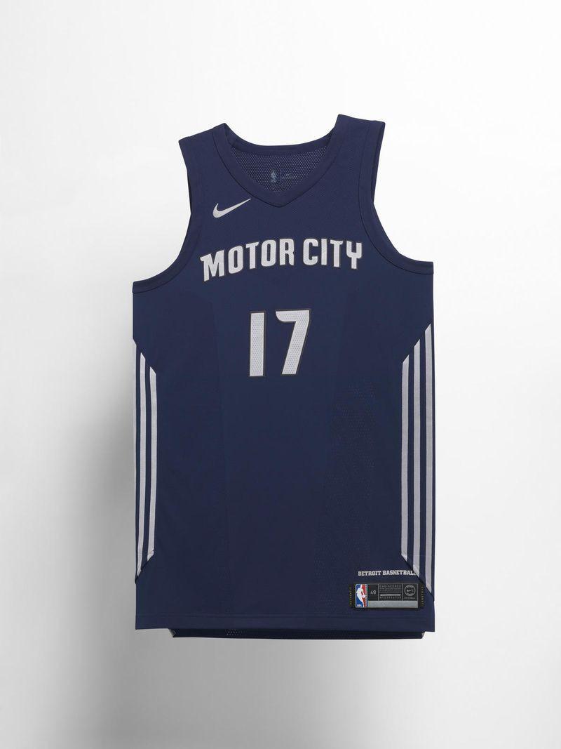 Motor City - thành phố nền công nghiệp ô tô, biểu tượng đặc trưng nhất cho Detroit Pistons.