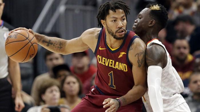 Thời gian tại Cavaliers có thể coi là vô cùng đáng quên đối với cá nhân Derrick Rose.