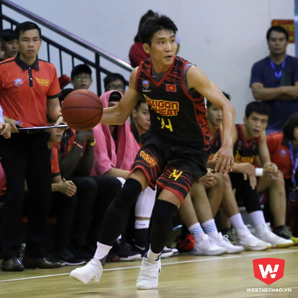 Lê Ngọc Tú được Saigon Heat chọn lại ở vòng hai. Ảnh: Việt Long.