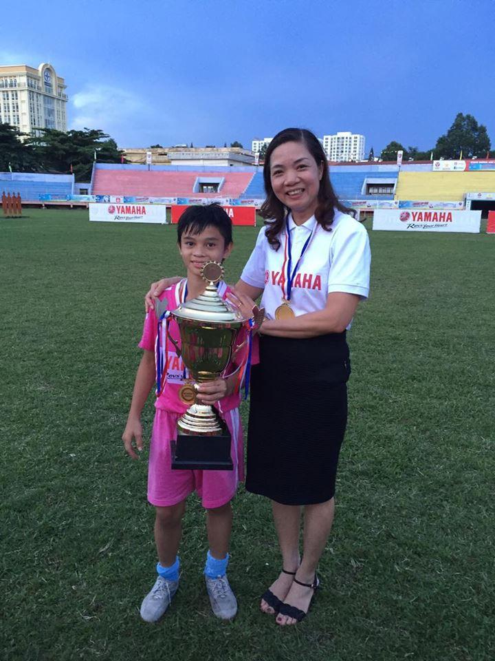 Chức vô địch xứng đáng của THCS Trần Hưng Đạo tới  từ Hải Dương