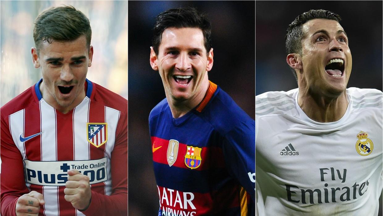 La Liga không thiếu những cuộc đua tam mã lịch sử