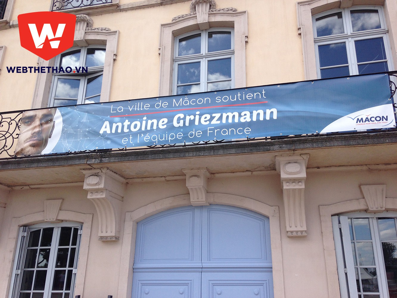 """THƯ EURO: Về Macon xem cách """"trồng"""" Griezmann"""