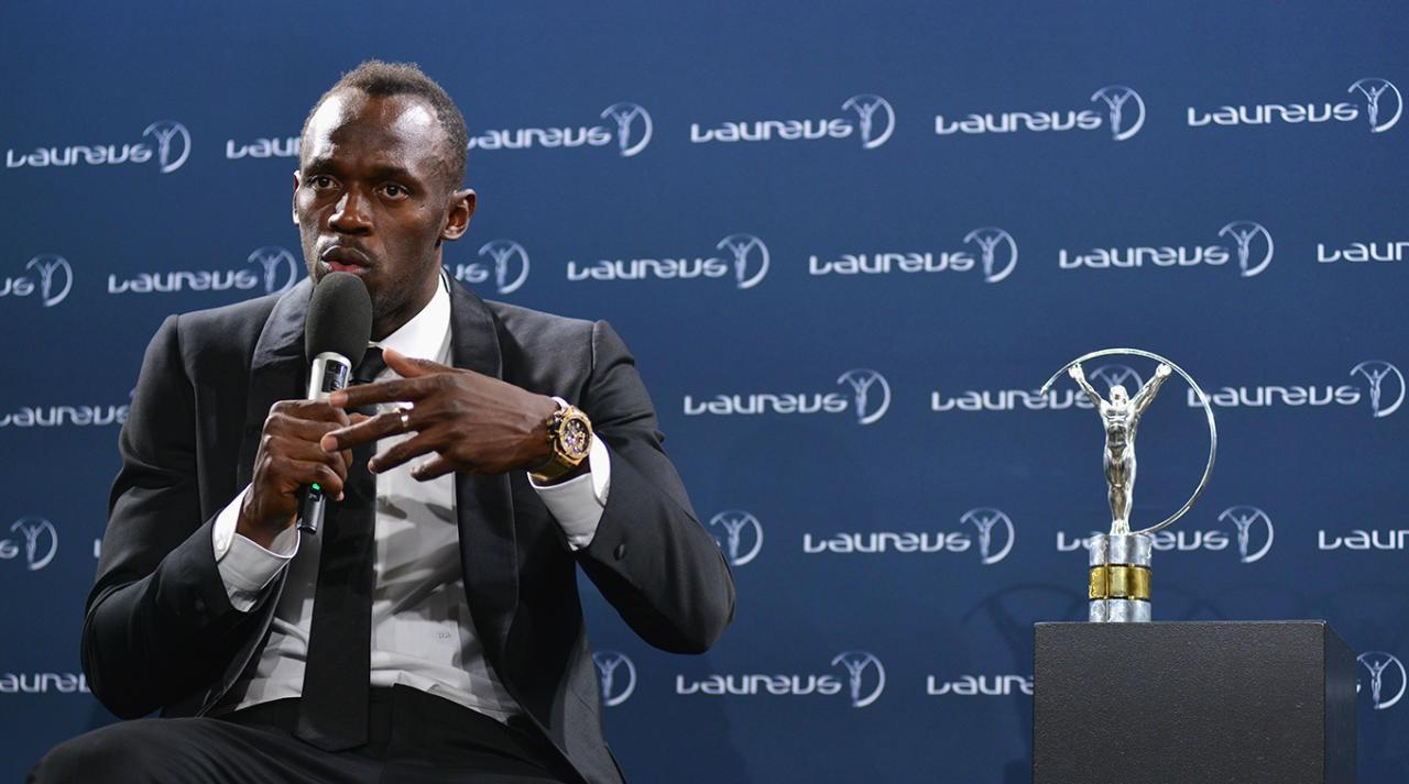 Hình ảnh: Usain Bolt được vinh danh năm ngoái