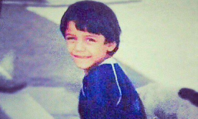 Hình ảnh: Sanchez khi còn nhỏ