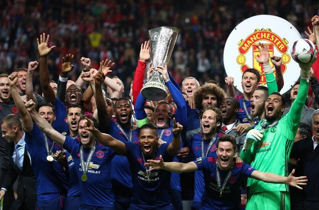 Hình ảnh: MU giành chức vô địch Europa League