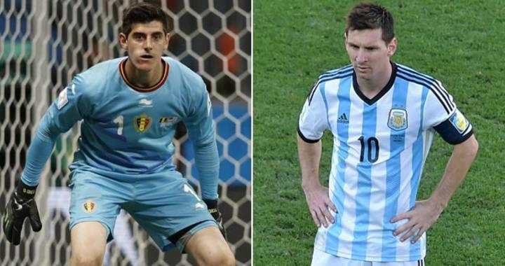 Hình ảnh: Tới đây Messi sẽ phải đối đầu với một thử thách khác mang tên Courtois