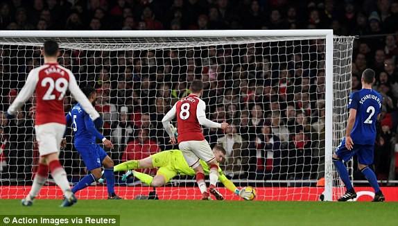 Hình ảnh: Arsenal là nỗi khiếp sợ của Everton