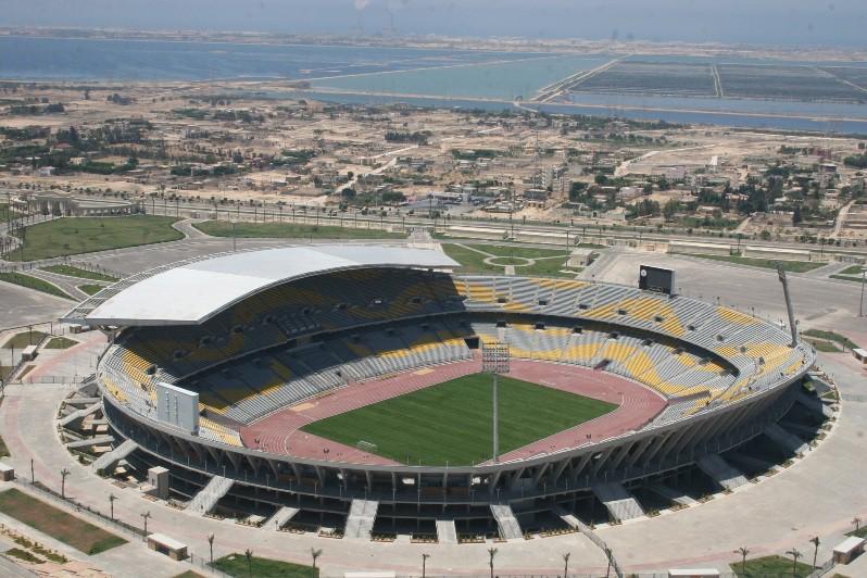 Hình ảnh: SVĐ Borg El Arab